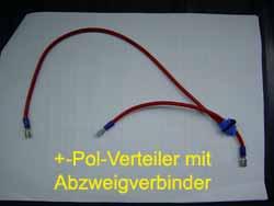 Stromverteiler Pluspol